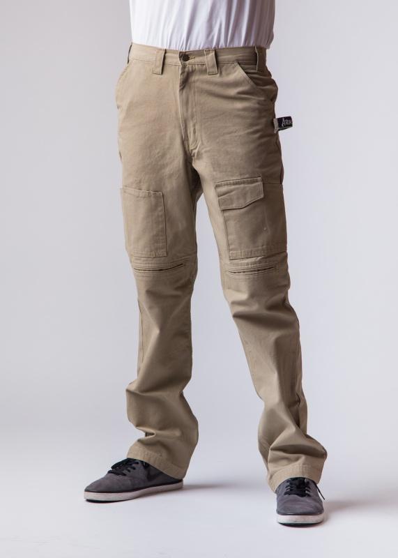 tan work pants w built in knee pads tan work pant armed work wear. Black Bedroom Furniture Sets. Home Design Ideas
